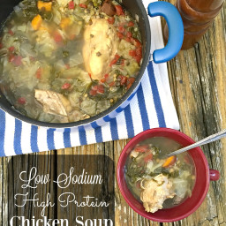 Healthy Chicken Detox Soup