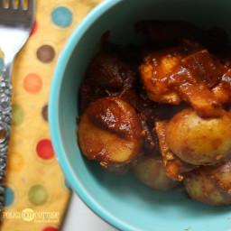 Healthy Chicken Potato Curry