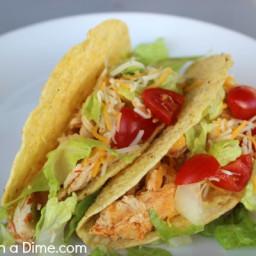 Healthy Chicken Tacos Pressure Cooker Recipe