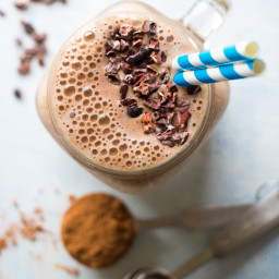 Healthy Chocolate Mocha Smoothie