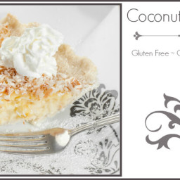 Healthy Coconut Cream Pie with Coconut Flour Crust