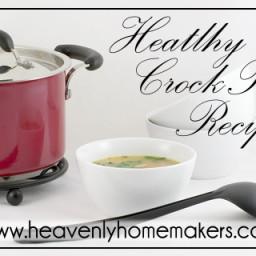 Healthy Crock Pot Recipe: Italian Cream Cheese Chicken
