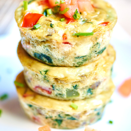 Healthy Egg Muffins On The Go!