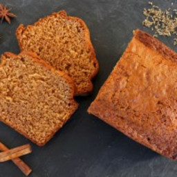 Healthy Gingerbread Spice Cake with Butternut Squash Puree