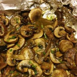 Healthy Grilled Mushrooms