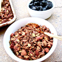Healthy High Protein Grain Free Granola (Sugar Free!)