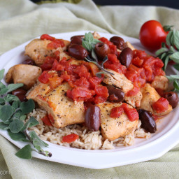 Healthy Instant Pot Mediterranean Chicken