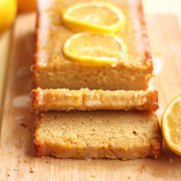Healthy Lemon Loaf Cake
