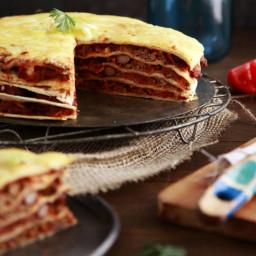 Healthy Mexican Lasagne