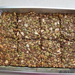 Healthy Nut and Seed Crispbread