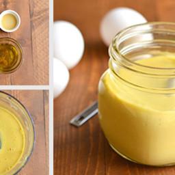 Healthy Paleo Mayo with Apple Cider Vinegar