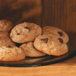 Healthy Peanut Butter-Chocolate Chip Cookies Recipe