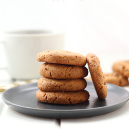 Healthy Peanut Butter Cookies