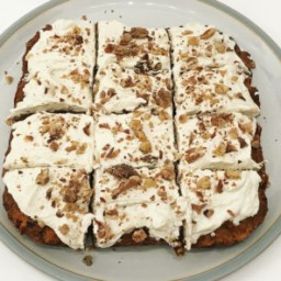 Healthy Protein Packed Carrot Cake