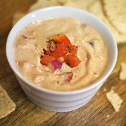 Healthy Queso Dip - Dairy-free, Soy-Free