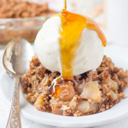 Healthy Quinoa Apple Crisp