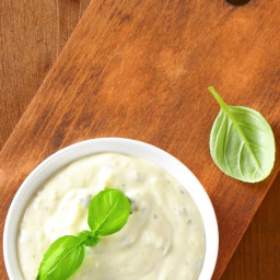 Healthy Ranch and Cucumber Snack