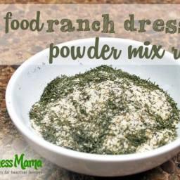 Healthy Ranch Dressing Mix Recipe