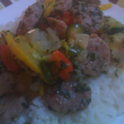 Healthy Sausage Stir Fry