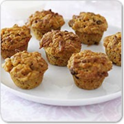 Healthy Sugar Free Banana & Pear Mini Muffins