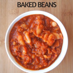 Healthy Thermomix Baked Beans