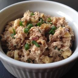 Healthy Tuna and Toasted Walnut Salad