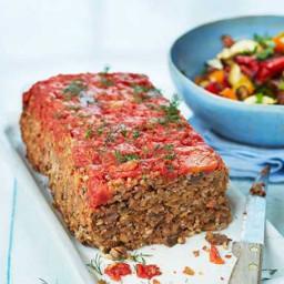 Healthy Turkish meatloaf