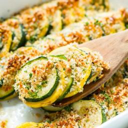 Healthy Zucchini & Squash Casserole Recipe