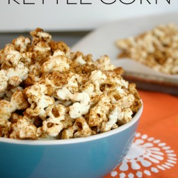 Healthy Homemade Kettlecorn