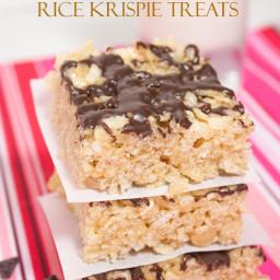 Healthy No Marshmallow Rice Krispie Treats