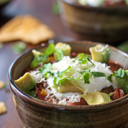 Healthy Slow Cooker Chili Recipe