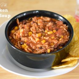 Heart-Healthy Crock Pot Chicken Taco Soup