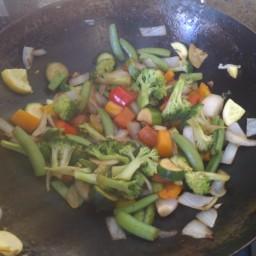 Heart-Healthy Stir-Fry Vegetables