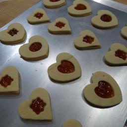Heart Tart Cookies