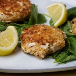 Hearts of Palm and Artichoke Cakes