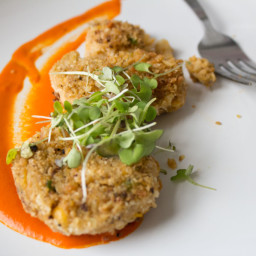 Hearts of Palm Crab Cakes