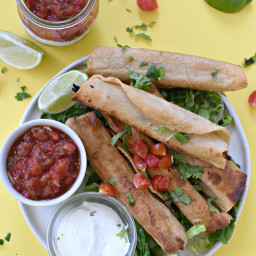Hearts of Palm Taquitos