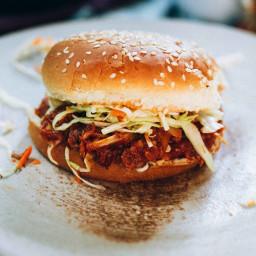 Hearts of Palm Vegan BBQ Sandwich