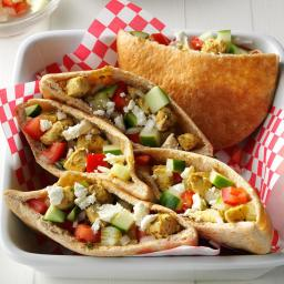 Hearty Chicken Gyros