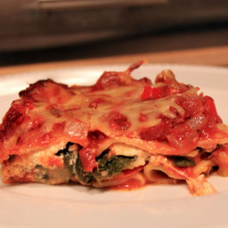 Hearty, Healthy Vegetarian Lasagna
