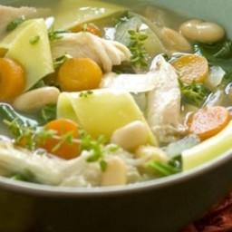 Hearty Turkey Noodle Soup