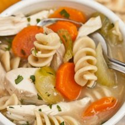 Hearty Turkey (or Chicken) Noodle Soup
