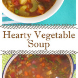 Hearty Vegetable Soup {Freezer Meal}