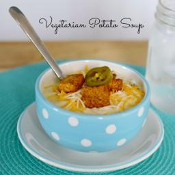 Hearty Vegetarian Potato Soup