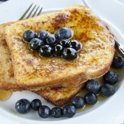 Heavenly Gluten-Free French Toast with Coconut Milk