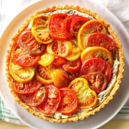 Heirloom Tomato Pie Recipe