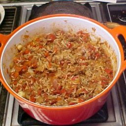 Helen's Spanish Rice With Beef