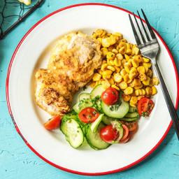 HelloFresh Crispy Chicken Thighs (16 WeightWatchers Pts)