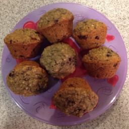Hemp Kissed Blackberry Chia Muffins