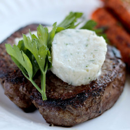 Herb and Gorgonzola Steak Butter